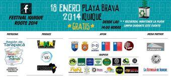 Festival Internacional Iquique Roots 2014 en Playa Brava, Iquique