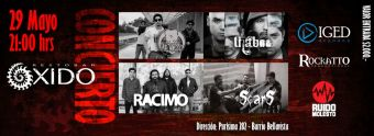 Ciclo de Rock Chileno 2014 en Bar Oxido