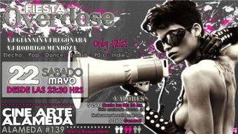 Fiesta Overdose, Centro Arte Alameda - 22/05/10