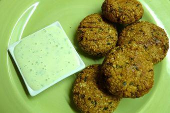 Cocinar Con Harina De Garbanzos | Como Preparar Falafel De Harina De Garbanzo Y Sesamo Cookcina
