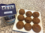 Deliciosas galletas de chocolate hechas con Yogur Griego