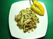 Prepara un Ceviche De Champiñón y Zapallo Italiano