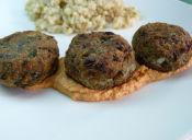 Prepara una Croqueta Vegana de Lentejas y Alga Nori