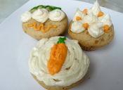 Prepara Cupcakes de Zanahoria Nuez