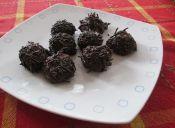 Cómo hacer trufas de chocolate para diabéticos
