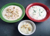 Prepara 3 salsas para untar con nueces