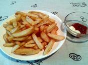 Receta paso a paso: papas fritas extra crujientes