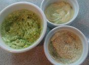 3 salsas para untar con wassabi