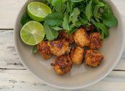 Receta al Microondas: Popietines de pollo