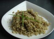 Prepara arroz de coliflor