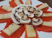Cómo hacer carpaccio de pimentón