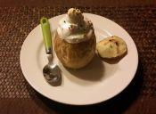 Cómo hacer manzana asada con merengue