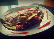 Preparar omelette italiano