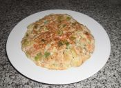 Cookcina en 15 minutos: tortilla de atún y vegetales