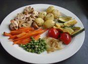 Hacer panache de verduras