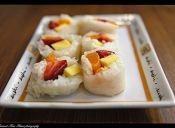Preparar Sushi de Frutas