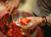 Ponche de fruta sin alcohol