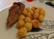 Pulpa de cerdo al horno estilo chileno