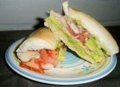 Fresco sándwich de pollo