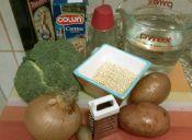 Crema de brócoli con quínoa
