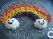 Recetas para niños: Arcoíris de verduras