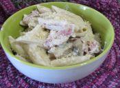 Recetas fáciles: Pasta con salsa de champiñones