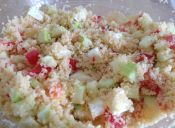 Tabulé: ensalada fresca de cous cous para el verano