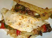 Comida mexicana: tacos de lomo