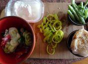 Prepara una sopa de crema de coco y jaiba