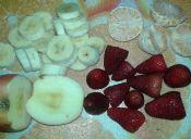 Prepara un Árbol navideño de frutas