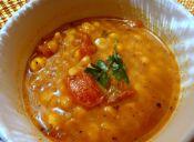 Cómo preparar un Curry de garbanzos