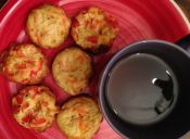 Cómo hacer Omelettes en moldes de cupcake