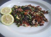 Cómo preparar un Ceviche de Algas