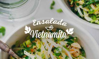 Receta de Ensalada Vietnamita