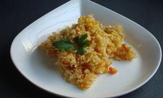 Cómo preparar arroz naranjo