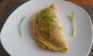 Cómo preparar omelette de arvejas