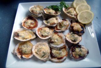C mo preparar ostras gratinadas cookcina - Como cocinar ostras ...