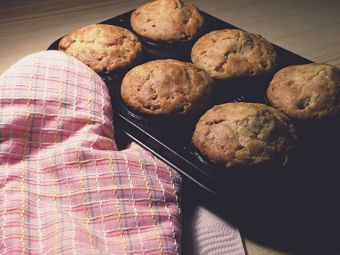 Cómo preparar muffins veganos de almendra