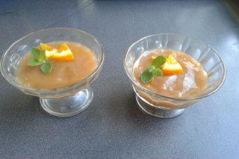 Cómo hacer espuma de chicha a la naranja