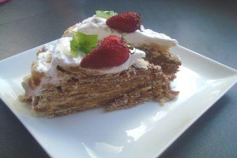 Cómo hacer una Torta de hojarasca con manjar