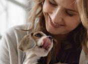 Alimentar a mi perra es como alimentar a mi hija