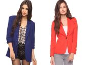 Moda primavera verano: Blazers de colores