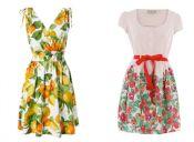 Moda verano 2012: estampados frutales