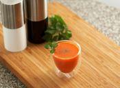 ¡Jugo de zanahoria para la salud!