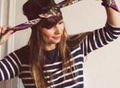 Cinco maneras de ponerte un pañuelo en el pelo de forma entretenida + tutorial