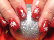 Espíritu navideño en tus uñas
