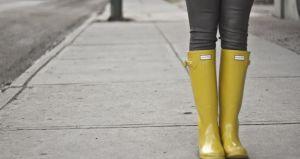 Tendencia: botas de agua de colores