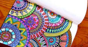 Tips para colorear mandalas y dibujos para adultos