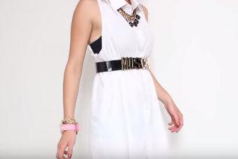 Tendencia: camisas como vestidos