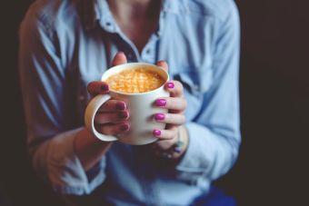 Cosas de loca: no poder comenzar el día sin tomar café